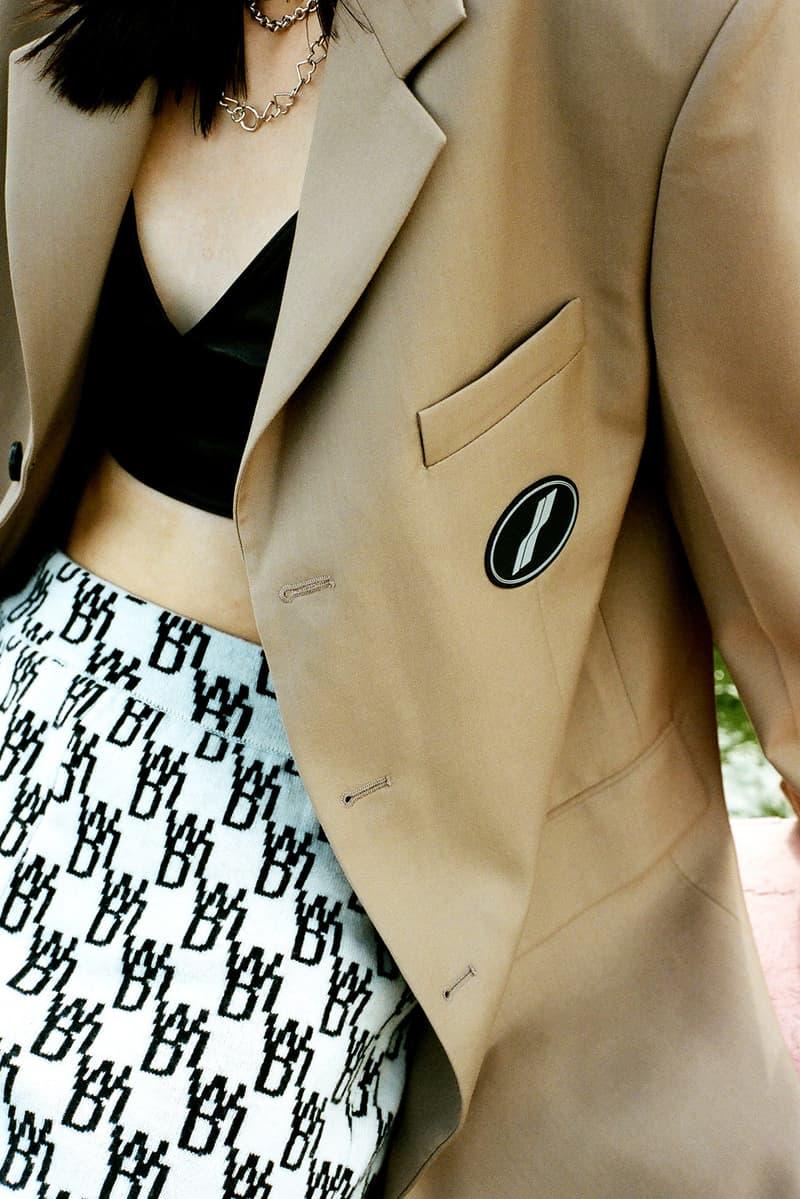 we11done fall winter lookbook editorial logo t-shirt blazers jackets pants hbxwm dami kwon jessica jung