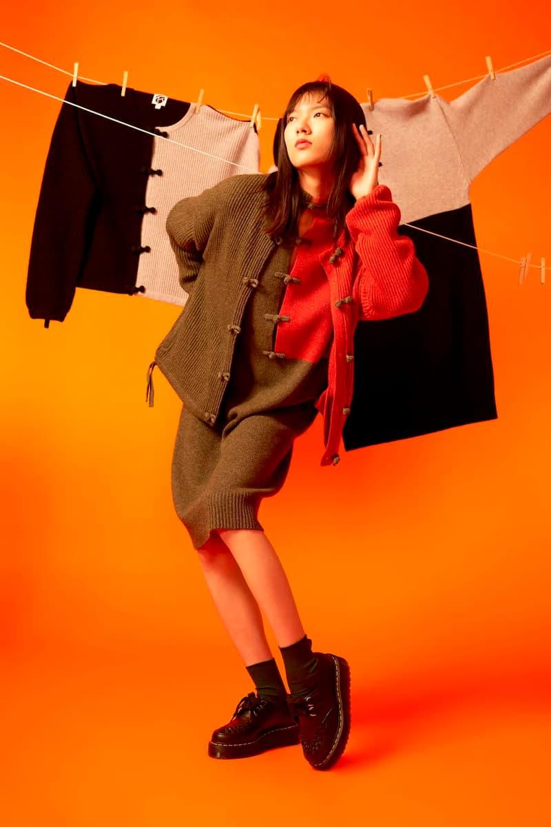 yanyan fall winter collection outerwear knitwear jackets sweaters dresses lookbook hong kong