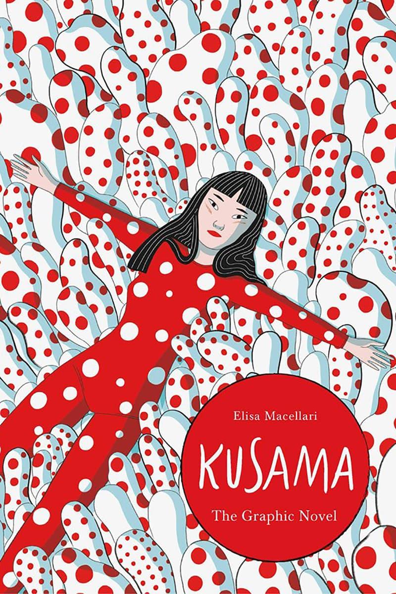 yayoi kusama graphic biography novel elisa macellari