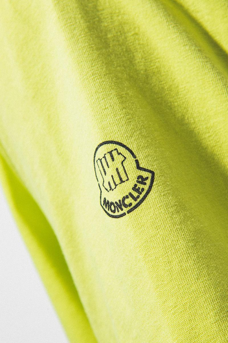 2 Moncler 1952 x UNDEFEATED Collaboration Collection T-Shirt Green
