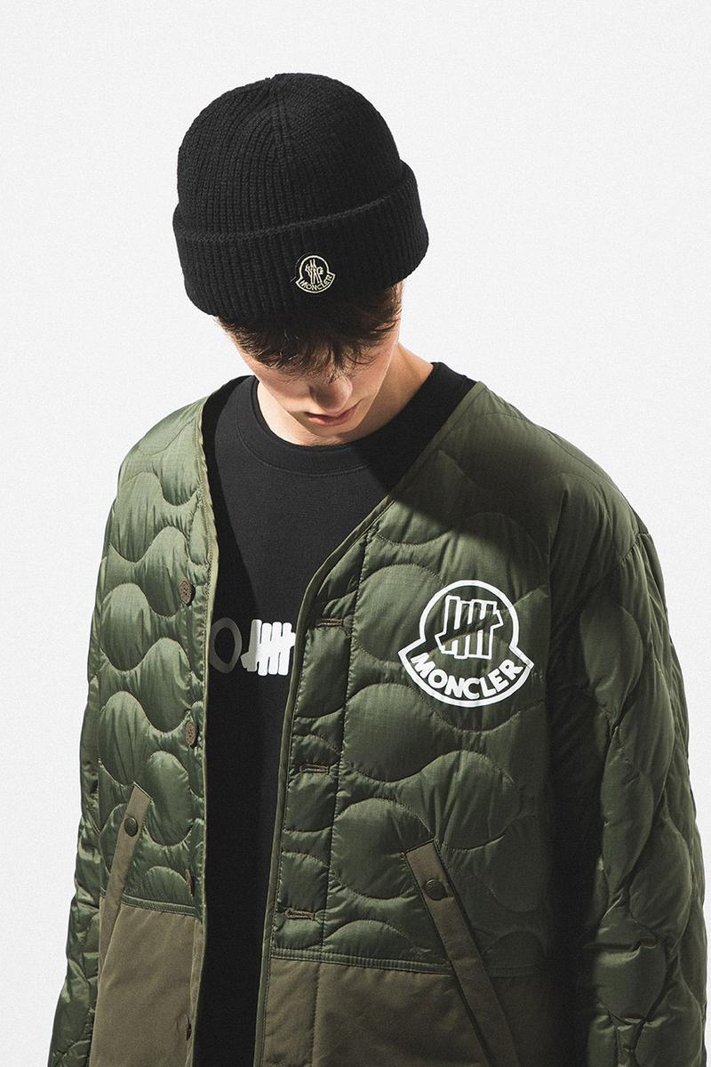 2 Moncler 1952 x UNDEFEATED Collaboration Collection Quilted Jacket
