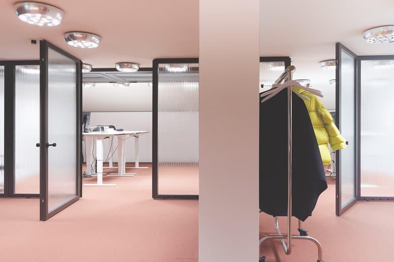 Acne Studios Headquarters Stockholm Sweden Floragaten 13 Interior Inside