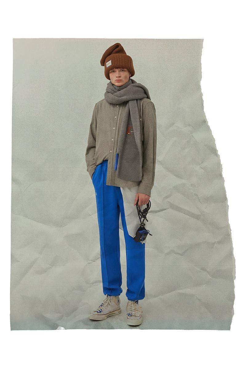 ader error fall winter lookbook release info beanies jackets jumpers knit sweaters