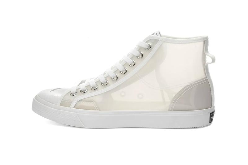 adidas originals nizza rf hi transparent yellow clear white summer sneakers release