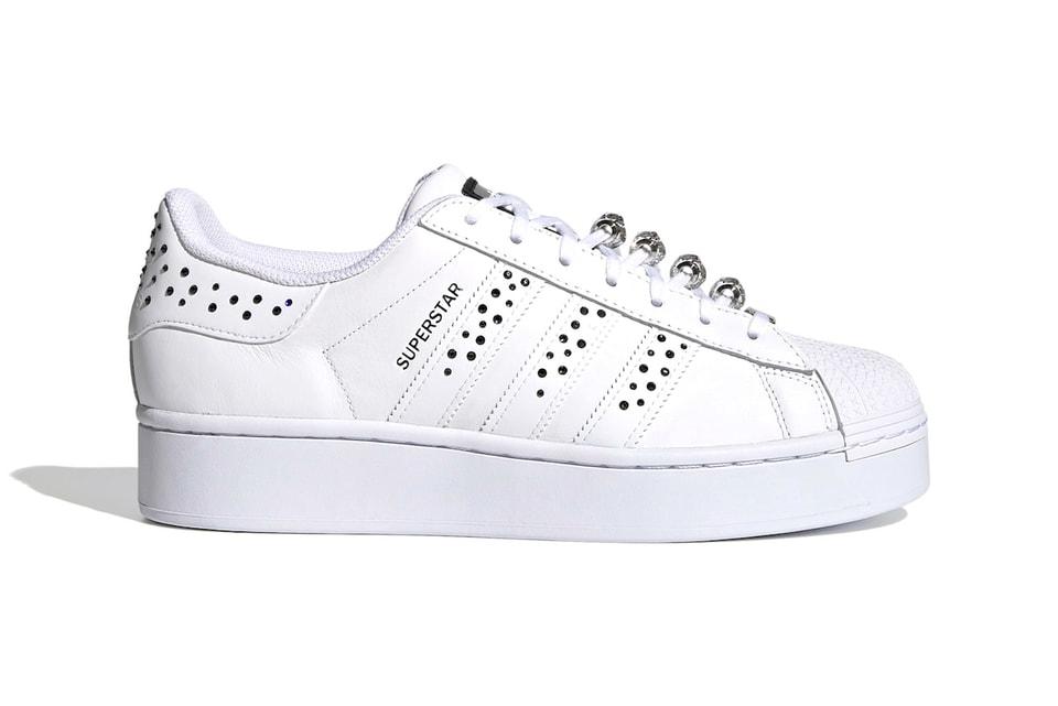 Jugar con Llave Reverberación  adidas Originals Swarovski Superstar Sneakers | HYPEBAE