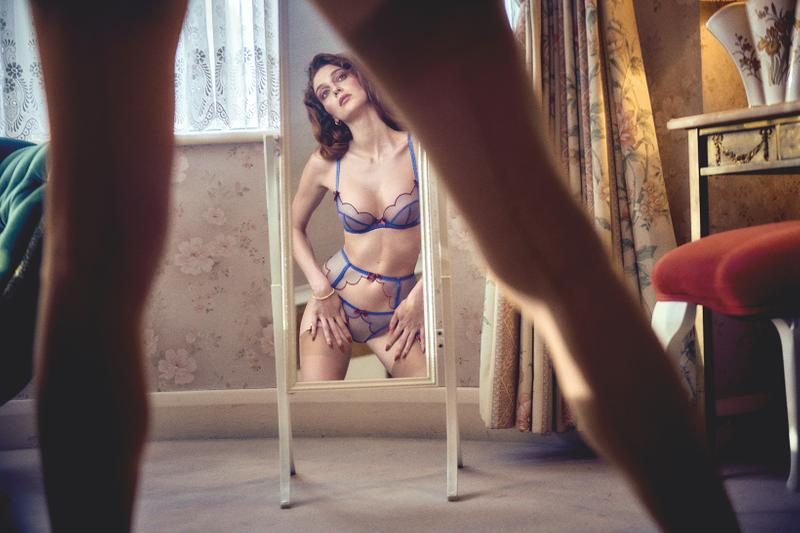 Agent Provocateur Fall/Winter 2020 Collection Campaign Jasmine Asia