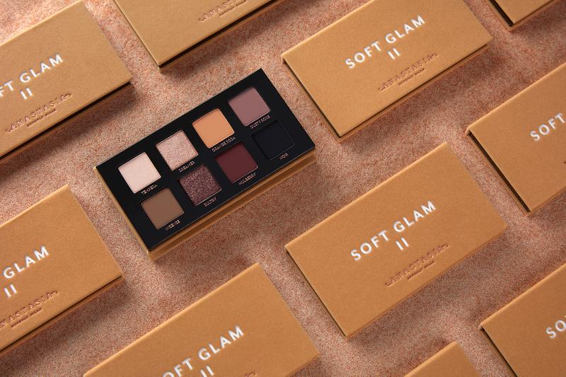 anastasia beverly hills soft glam ii eyeshadow palette makeup beauty