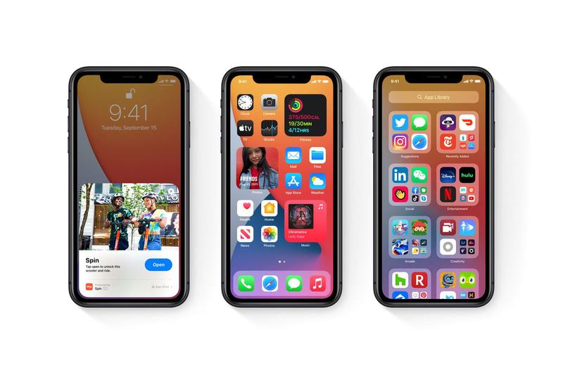 Apple iOS 14 iPhone New Features Homepage Apps