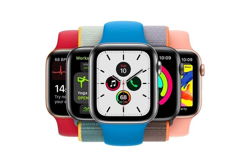 Apple Watch Series 5 Colors Blue Red Orange