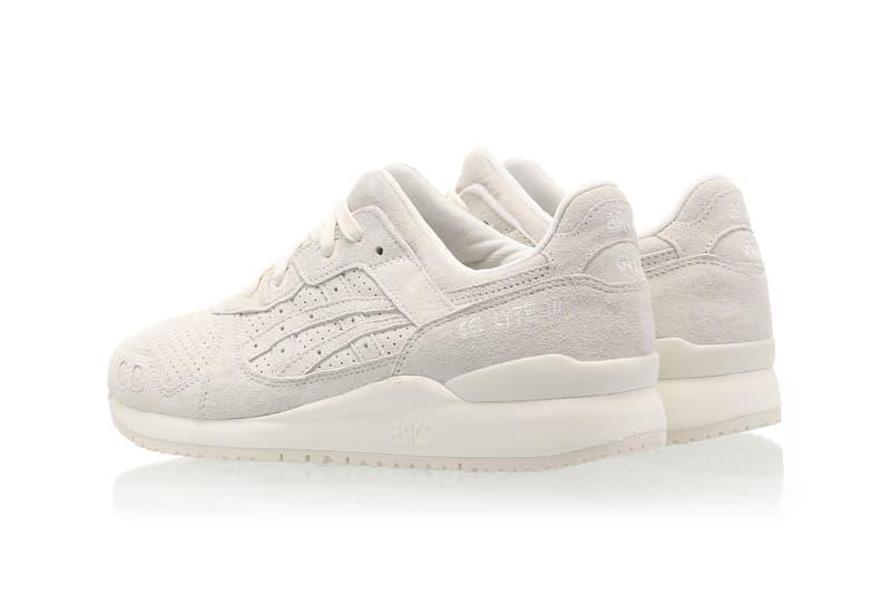 asics gel lyte iii og sneakers cream white colorway shoes footwear sneakerhead