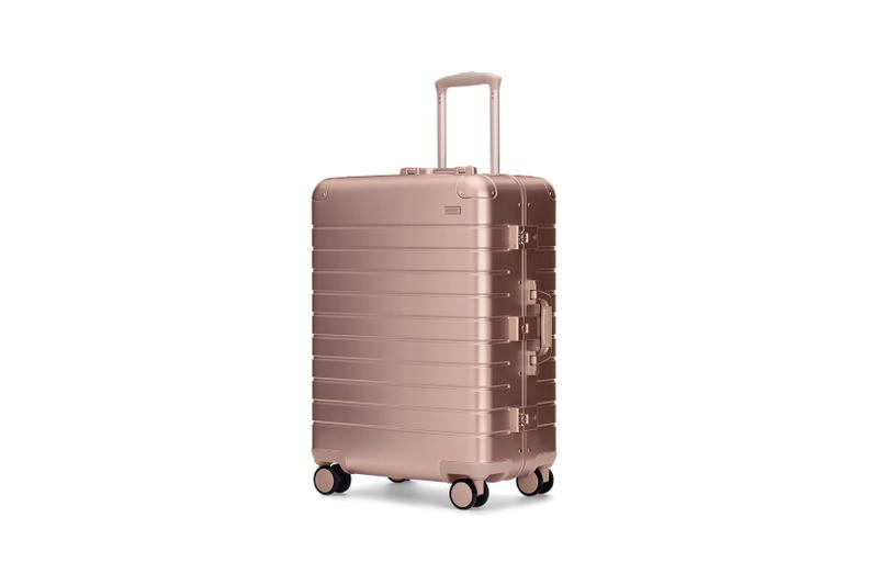 away sale suitcases luggage backpacks bags pink cream brown