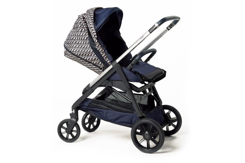 dior baby stroller trolley oblique print inglesina diaper bag release info