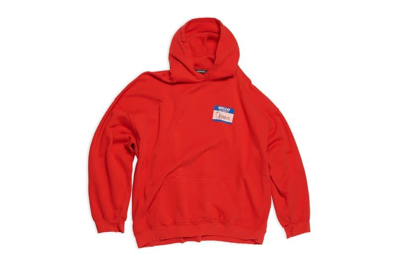 balenciaga apple music playlist my name is demna gvasalia merch limited edition t-shirts hoodies release