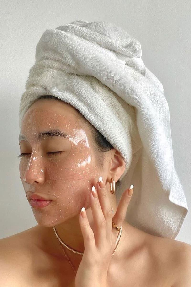 Face Mask Skincare Hair Towel Spa