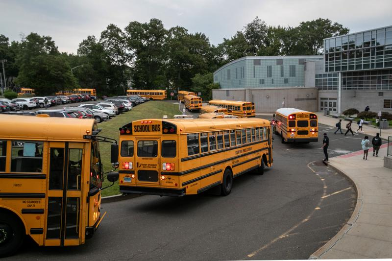 Rippowam Middle School Stamford Connecticut School Bus