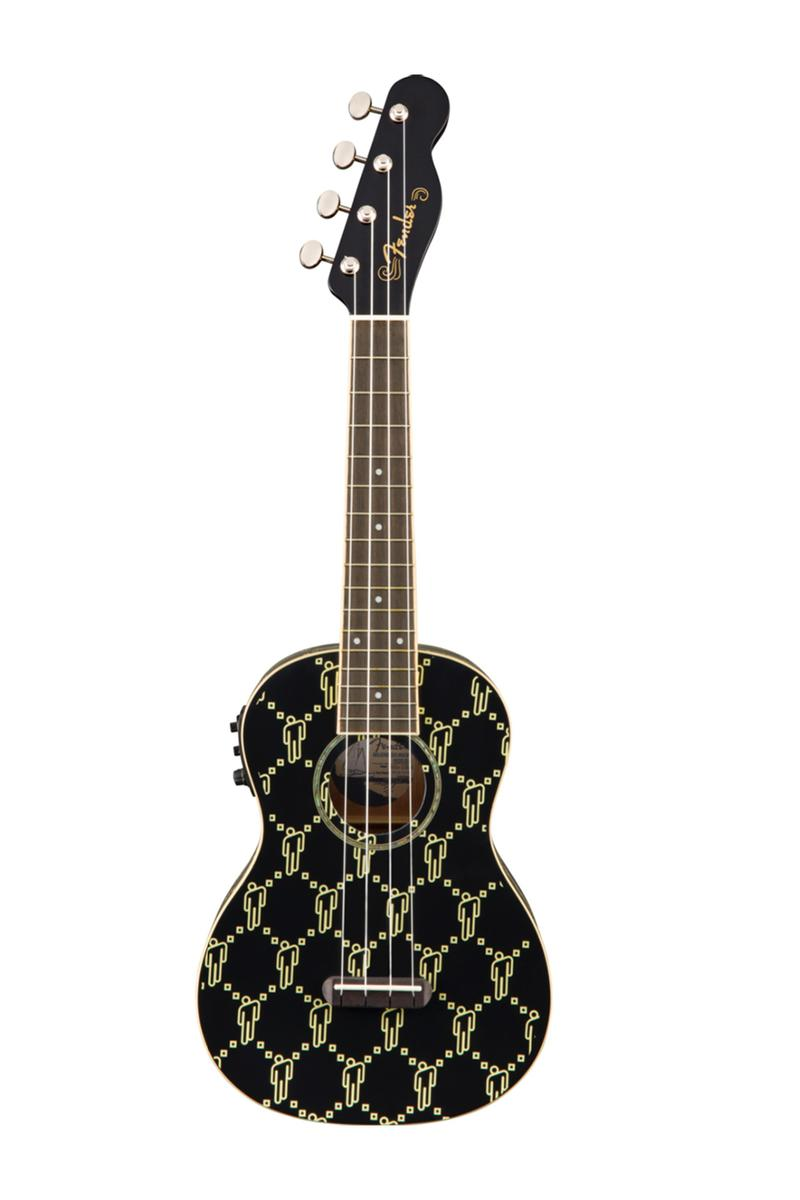 billie eilish fender ukulele artist signature series blohsh musical instrument release info