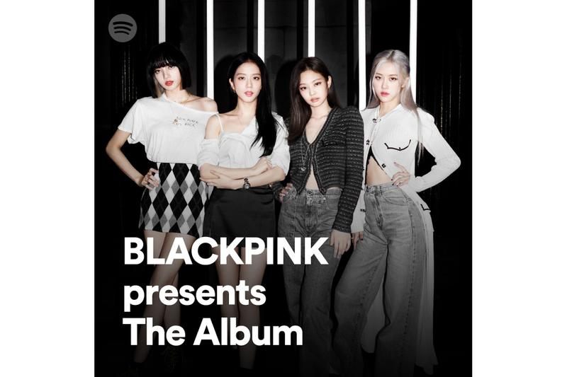 BLACKPINK Curates Exclusive Playlists for Spotify Jennie Jisoo Rose Lisa The Album Release TEaser