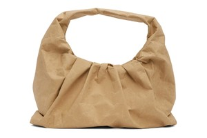 Picture of Pack Your Lunch in This Paper Version of Bottega Veneta's Shoulder Pouch