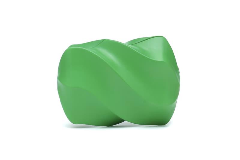 Bottega Veneta Whirl Leather Clutch Bag Release Pink Green Olive Nude Accessory Fall/Winter 2020 Daniel Lee