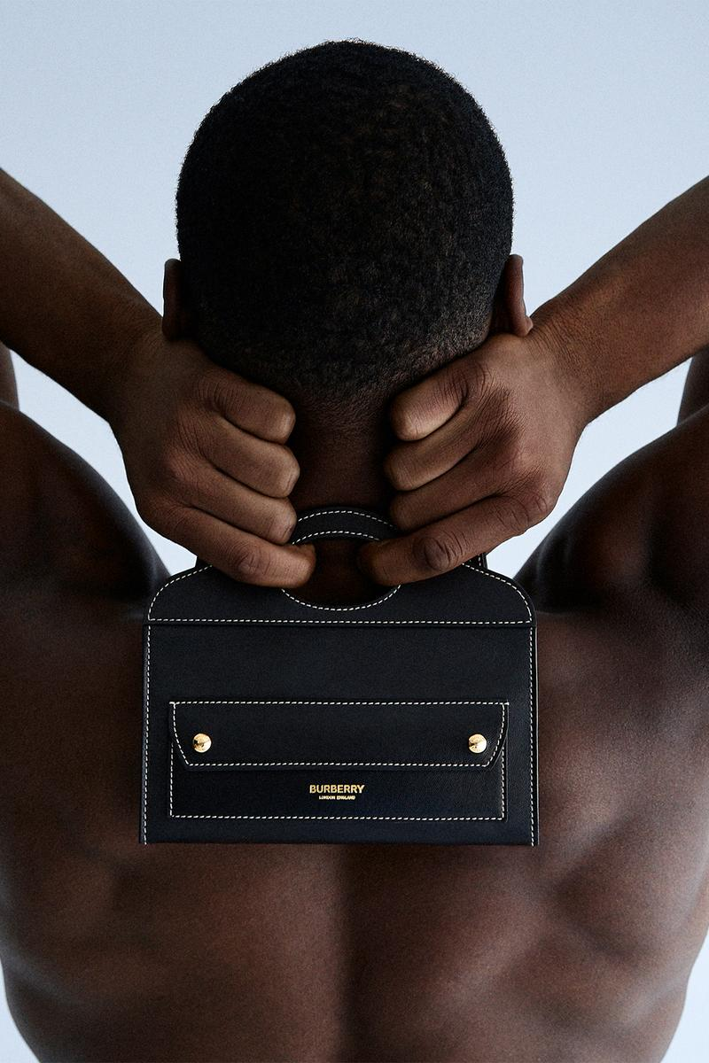 burberry b series mini pocket bag black designer riccardo tisci
