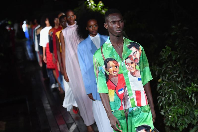 Pyer Moss Spring/Summer 2019 Show New York Fashion Week Collection