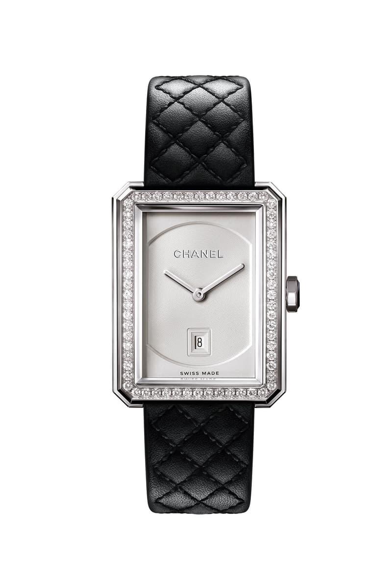 Chanel Boyfriend Watch 2020 Diamond Bezel