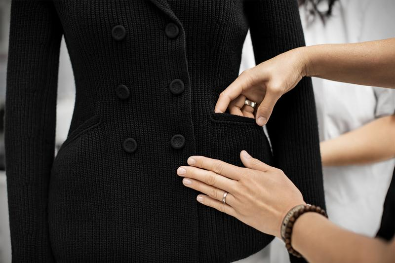 dior bar jacket knit behind the scenes how to savoir faire blazer