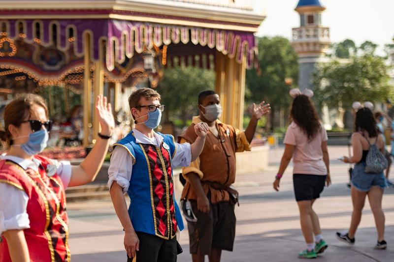 Disney Lays Off 28,000 Employees Across Theme Parks Florida California COVID-19 Coronavirus
