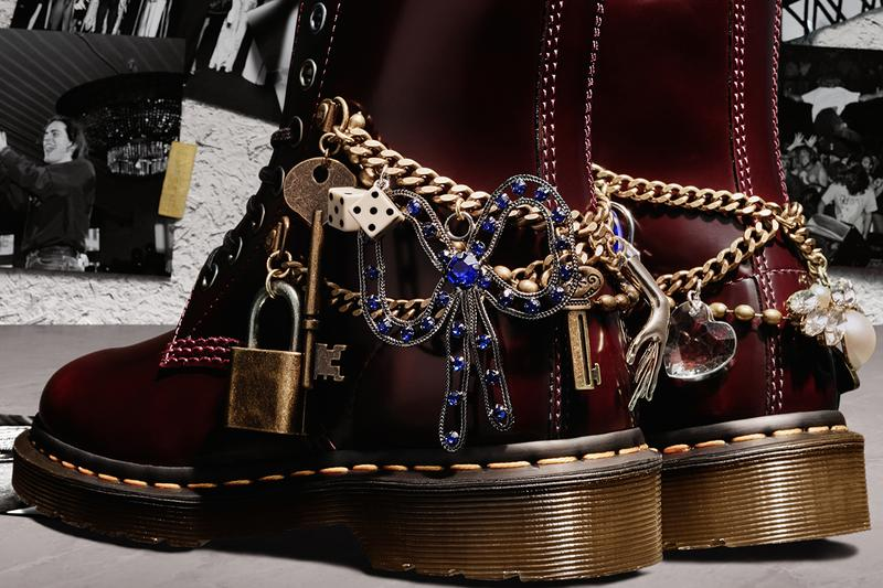 marc jacobs dr martens 1460 remastered boots collaboration vegan leather 60th anniversary release