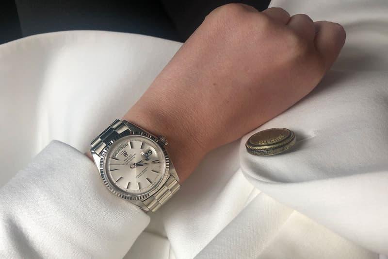 Rolex Datejust Watch Silver Women's
