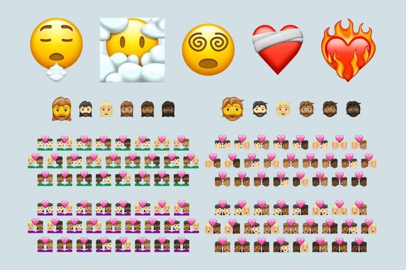 Emoji 13.1 Unicode New Skin Tones Interracial Couples