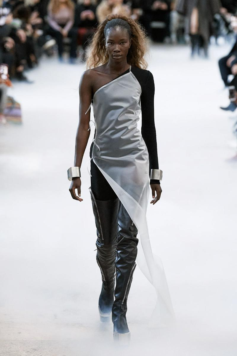 thigh high boots over the knee fashion trend rick owens adhel bol