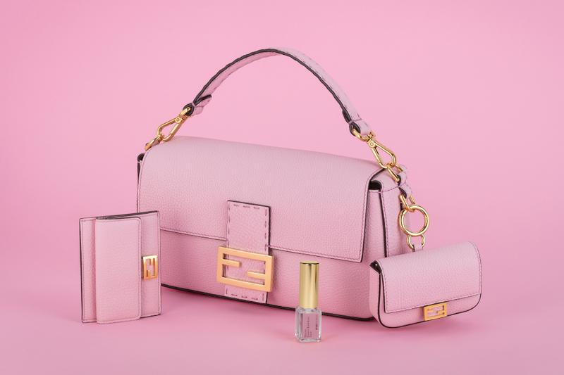 Fendi Pink Baguette Bag FENDIFRESIA Collection Scented Release Date