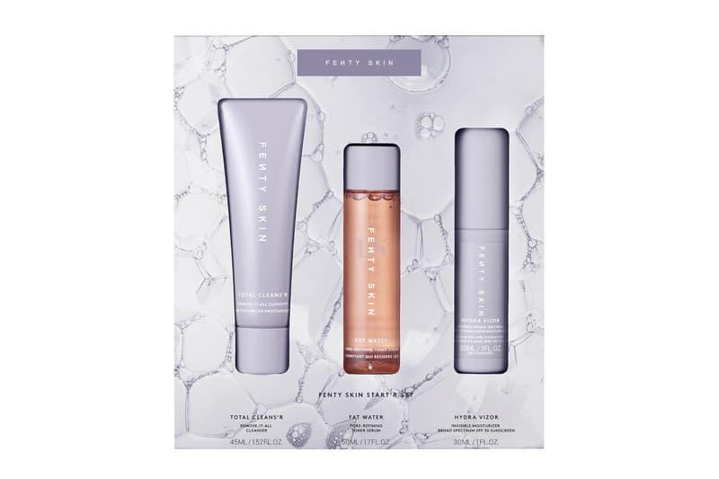 Fenty Skin Mini Start'r Set Product Trio Release Rihanna Beauty Cleanser Water