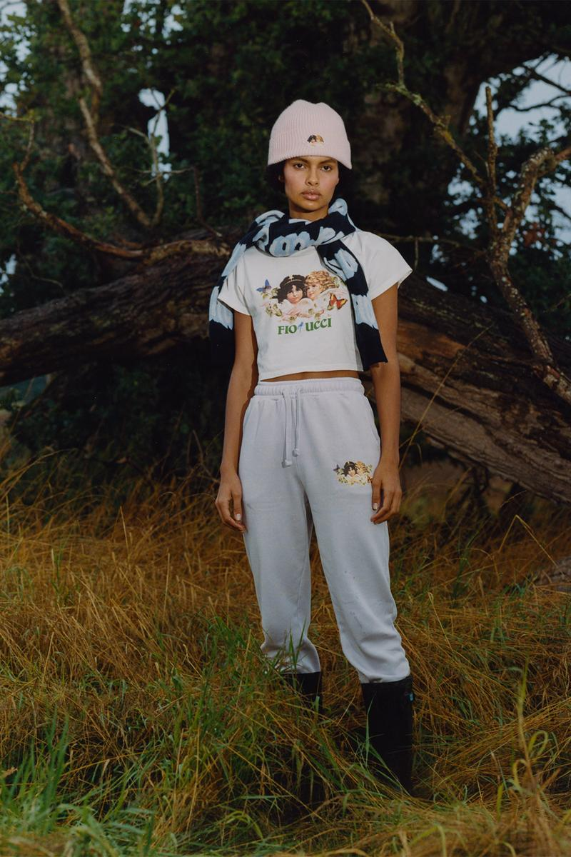 fiorucci limited edition woodland collection tees sweaters sweatpants bucket hats