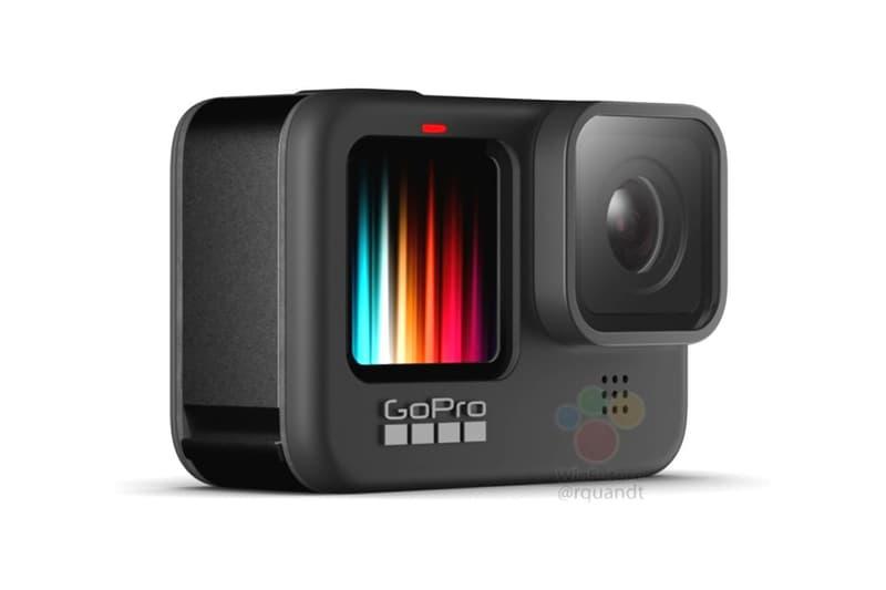 gopro hero 9 black camera front display features specs leak rumor