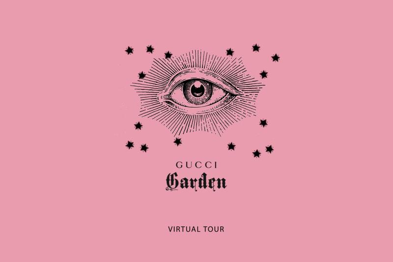 gucci garden virtual online tour italy florence alessandro michele