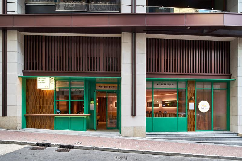hong kong hk miss lee vegetarian vegan chinese food central interior design pastel