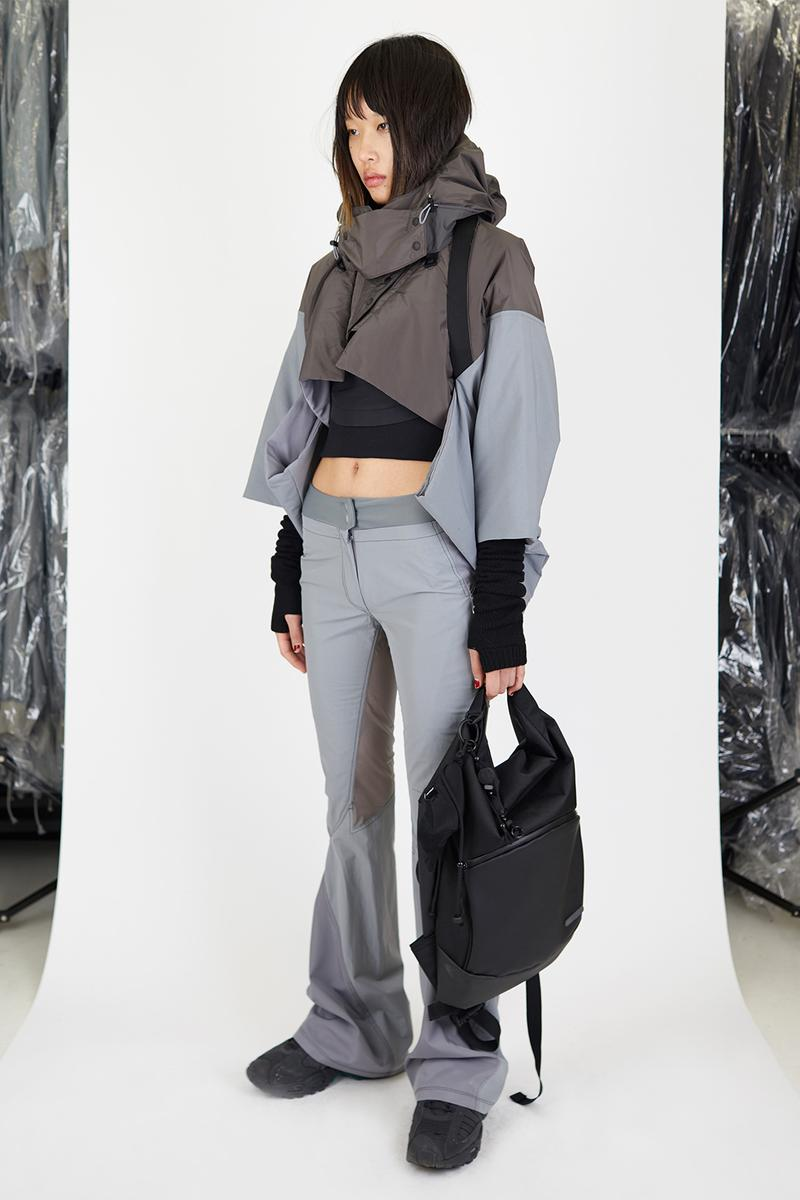 hyein seo fall winter collection lookbook dresses leggings skirts pants crop tops release info