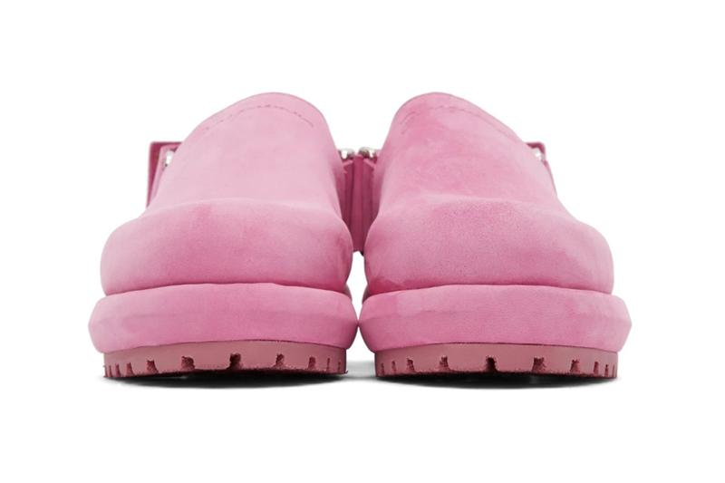jacquemus les mules slippers shoes pink taupe fall winter release