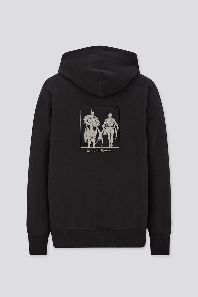UNIQLO UT x Jean-Michel Basquiat x Warner Bros. Collaboration Collection Joker Hoodie
