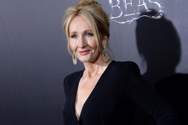 JK Rowling Red Carpet Premiere Fantastic Beasts and Where to Find Them