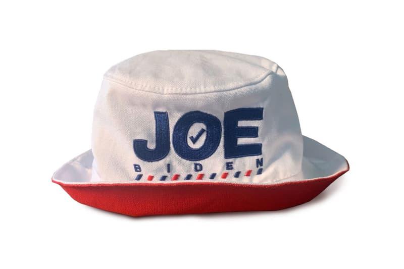 Joe Biden Campaign Merchandise Believe in Better Collection Victory Fund Thakoon Scarf Victor Glemaud Hat