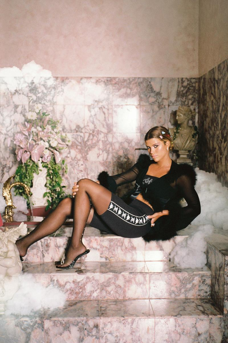 Kappa x Juicy Couture Collaboration Collection Campaign Sofia Richie Tracksuit