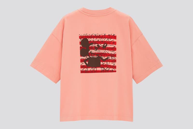 keith haring uniqlo ut mickey mouse t-shirts sweatshirts crewnecks collaboration pop artist