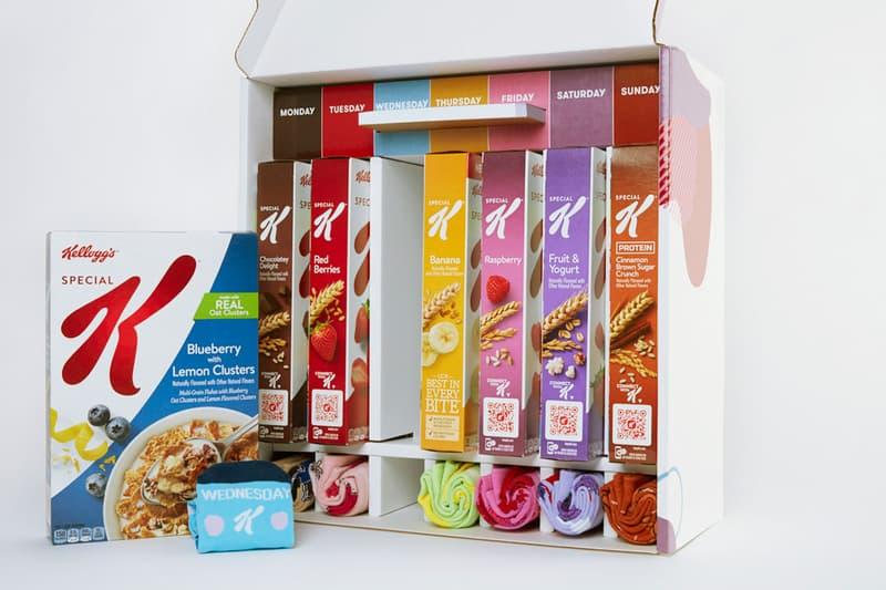 kelloggs special k socks blursday go away kit cereals planners week cinnamon brown sugar chocolate blueberry giveaway