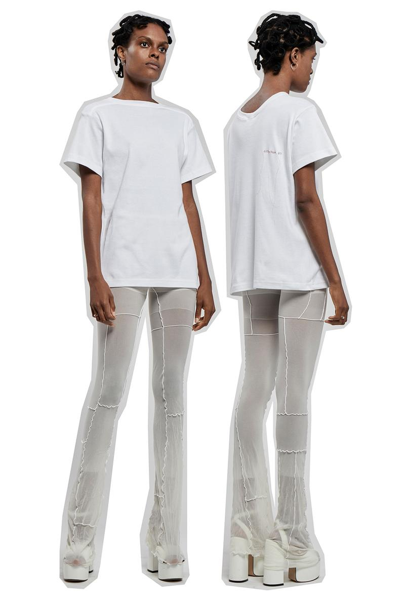 kits see through frill tank tops crops flared pants new york city nyc emerging designer brand collective