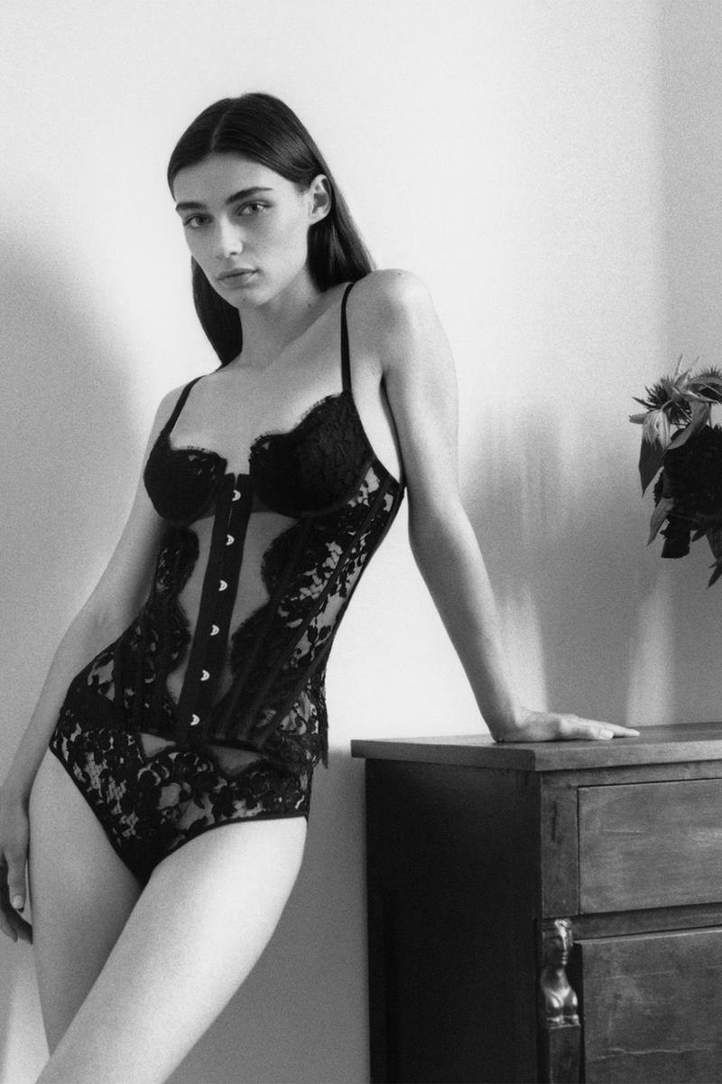 la perla fall winter collections lingerie bras underwear nightwear loungewear campaign