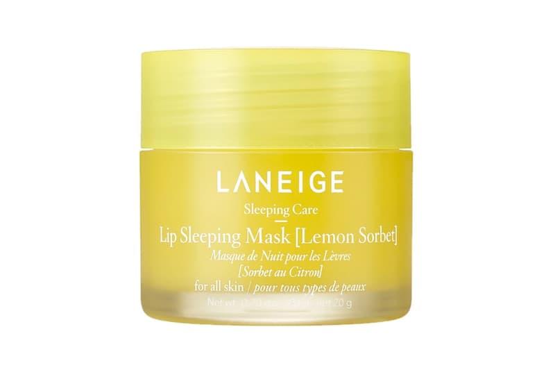 laneige lip sleeping mask lemon sorbet mint choco limited edition skincare k beauty