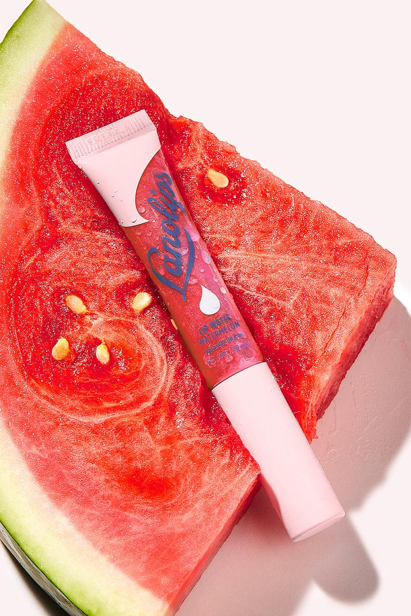 lano watermelon lip water balm serum tint red pink skincare clean beauty cruelty free